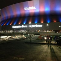 Photo taken at Mercedes-Benz Superdome by Robert on 1/3/2013