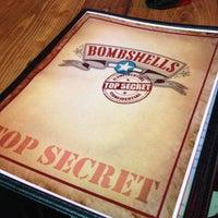 Photo taken at Bombshells Restaurant & Bar by Tony C. on 4/16/2013