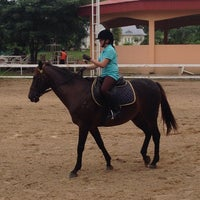 Photo taken at The Royal Horse Guard Riding Club by 💃Natty A. on 8/30/2014