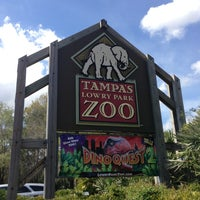 Photo taken at Tampa's Lowry Park Zoo by Justin T. on 2/22/2013