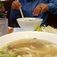 Photo taken at Pho Saigon Noodle & Grill by Luu T. on 8/30/2016