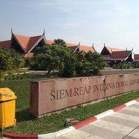 Photo taken at Siem Reap International Airport (REP) by Natalia B. on 3/21/2013