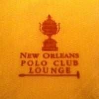 Photo taken at The Polo Club Lounge by Oscar S. on 10/10/2012