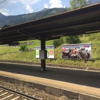 Photo taken at Bahnhof Bad Hofgastein by yoko* on 8/1/2018