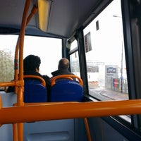 Photo taken at X50 Bus by Adriana R. on 10/16/2012