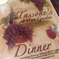 Photo taken at Tassone's Wine Garden by Dawn G. on 5/19/2014