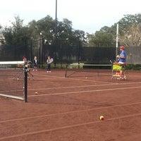 Photo taken at FishHawk Ranch Tennis Club by Lori N. on 1/15/2014