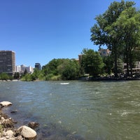 Photo taken at Truckee River by Oliver on 5/29/2017