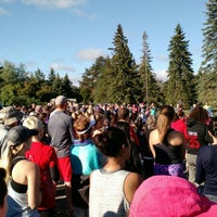 Photo taken at Terry Fox Run by JF C. on 9/20/2015