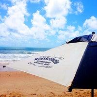 Photo taken at Whiskritorio Beach by Tiago R. on 4/9/2014