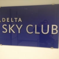 Photo taken at Delta Sky Club by OMi on 11/23/2012