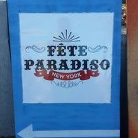 Photo taken at Fête Paradiso by Erica S. on 9/28/2013