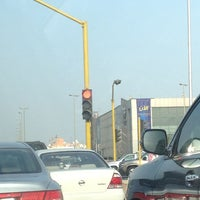 Photo taken at Prince Sultan & Al Batterjee Intersection by NOGA on 9/3/2013