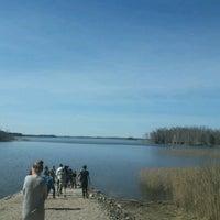 Photo taken at Alauksta ezers by Sendija on 4/20/2017