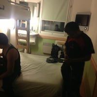 Photo taken at Ibis Budget Porte de Montmartre by Ricocaldito on 8/28/2013