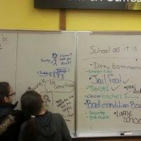 Photo taken at Kelly High School by Xian B. on 2/4/2015