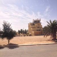Photo taken at Aéroport de Hassi Messaoud (HME) by Dou B. on 2/19/2013