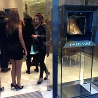Photo taken at Panerai İstanbul Boutique by Ahmet on 10/7/2013