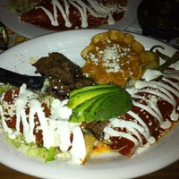 Photo taken at Los Agaves Restaurant by Ziba P. on 9/18/2012