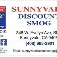Sunnyvale Discount Smog - Certified Smog Check Station