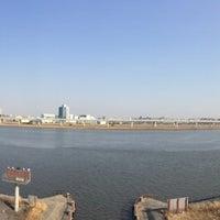 Photo taken at 小松川リバーステーション by celeste on 3/16/2014