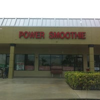 Photo taken at Power Smoothie by Jennifer L. on 4/5/2013