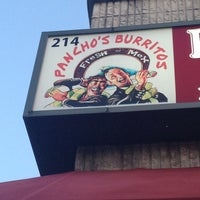 Photo taken at Pancho's Burritos by Brooks D. on 4/25/2013