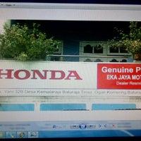 Photo taken at Eka Jaya Motor ~ by Deonita A. on 12/4/2012