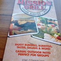 Photo taken at Mission Grill by Julian G. on 7/7/2013