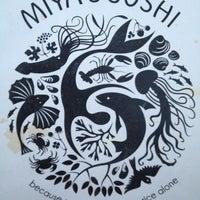 Photo taken at Miya's Sushi by Nisha P. on 6/22/2013