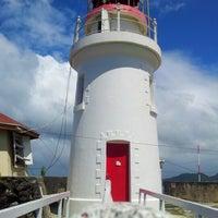 Photo taken at Vigie Lighthouse by Walton S. on 2/17/2013