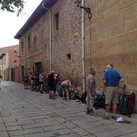 Photo taken at El Camino de Santiago - Santo Domingo de La Calzada by Pilar S. on 9/17/2014