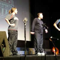 Photo taken at ComedySportz QC by Lesley W. on 1/23/2016