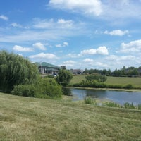 Photo taken at In A Parking Lot By A Pond by Lesley W. on 7/25/2013