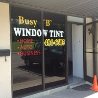 """Photo taken at Busy """"B"""" Window Tint by Lorne T. on 8/14/2013"""