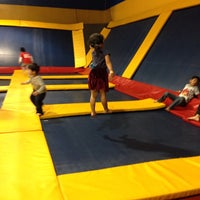Photo taken at Sky High Sports by Jee H. on 4/27/2014