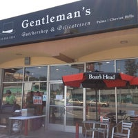 Photo taken at Gentleman's Butchershop and Delicatessen by Michael S. on 4/27/2013