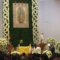 Photo taken at Parroquia de Nuestra Señora de Guadalupe by Diana S. on 5/15/2016