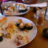 Photo taken at Sushi Miya8i by Vincentius a. on 8/30/2014