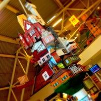Photo taken at Terminal 4 by Egor G. on 2/14/2013