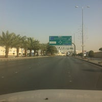 Photo taken at King Abdulaziz Road by Hazem O. on 1/24/2013