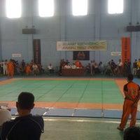 Photo taken at GOR Mampis Rungan by Budi v. on 12/2/2012