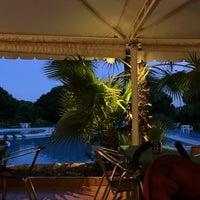 Photo taken at Restaurante Piscina Font Nova by Enric B. on 8/10/2015