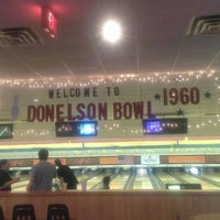 Photo taken at Donelson Bowling Center by Courtney F. on 2/8/2014