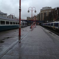 Photo taken at Platform 1 by Stuart H. on 2/1/2013