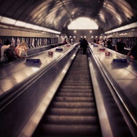 Photo taken at Angel London Underground Station by Jason T. on 3/19/2013