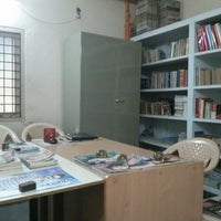 Photo taken at cess library by Ashok P. on 8/22/2013