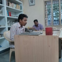 Photo taken at cess library by Ashok P. on 8/13/2013