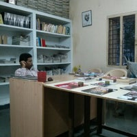 Photo taken at cess library by Ashok P. on 9/1/2013