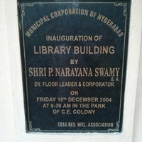 Photo taken at cess library by Ashok P. on 4/12/2013